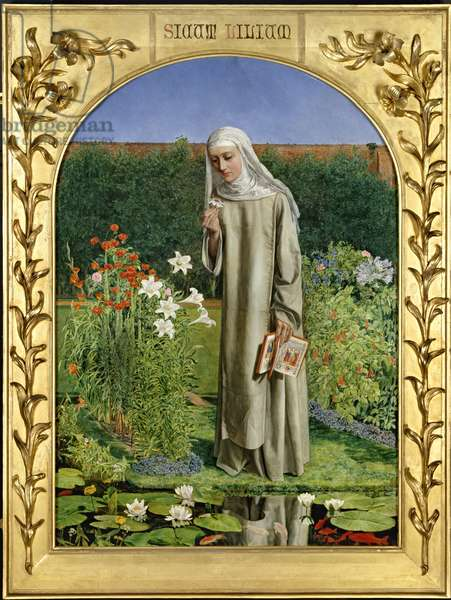 Convent Thoughts, 1850-51 (oil on canvas)