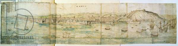 Malaga, 16th century (pen and ink and w/c on paper)