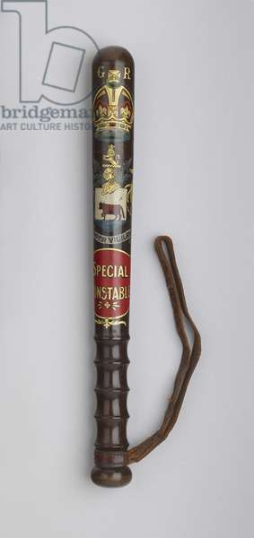 City of Oxford Special Constable's truncheon (painted wood)