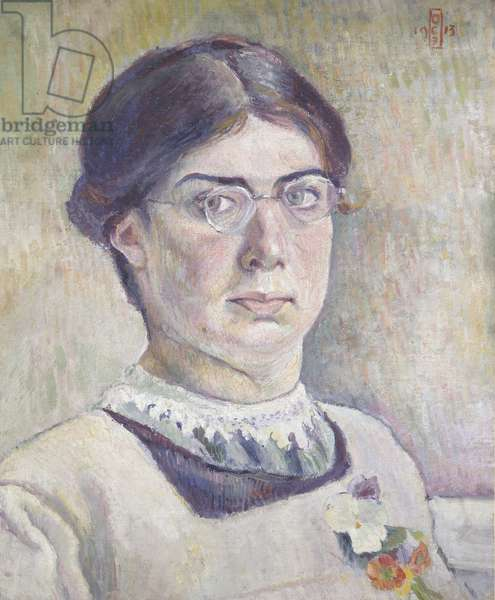 Self-portrait, 1913 (oil on canvas)