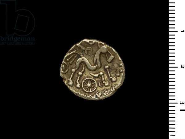 Coin from the Henley Hoard, c.50 BC (gold)