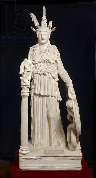Cast of Varvakeion Athena, Athens, original dated 2nd century AD (plaster)