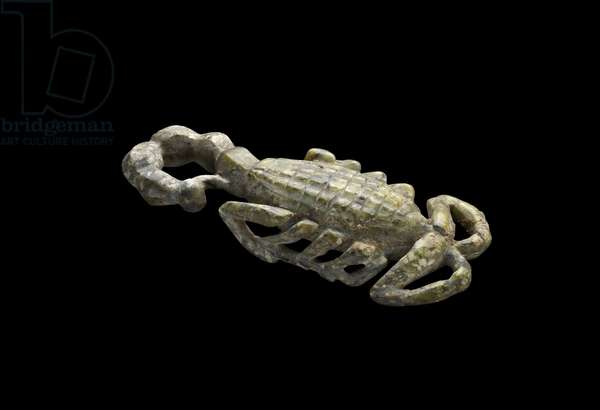 Model Scorpion of Serpentine, Early Dynastic Period (c.2950-c.2575 BC) (carved serpentine)