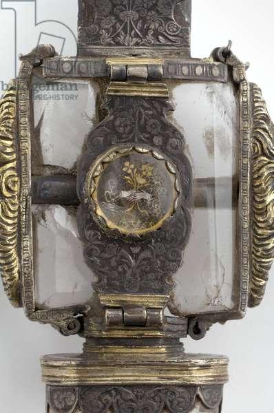 Henry VIII's Sword of State (metal & crystal) (detail of 114276)