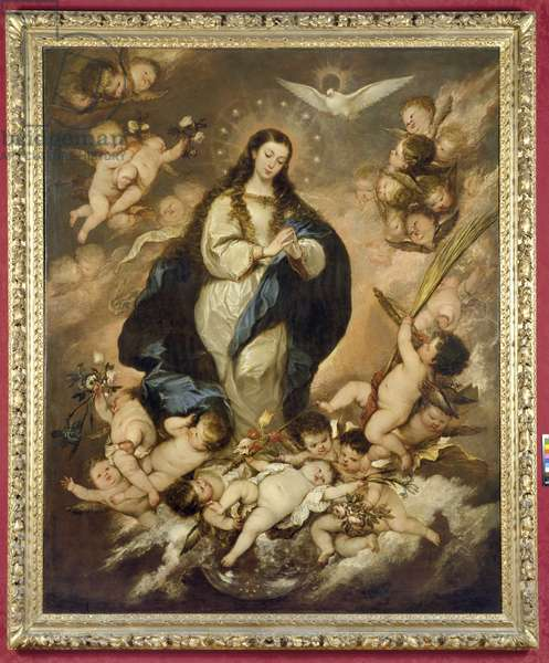 The Immaculate Conception, late 1660s (oil on canvas)