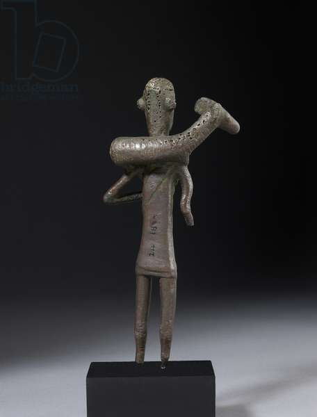 Shepherd figure, Sardinian (bronze) (see also 121147 & 419815)
