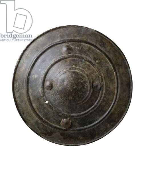 Wittenham Shield, from Long Wittenham, Oxfordshire, Late Bronze Age, c.1200 BC (bronze)