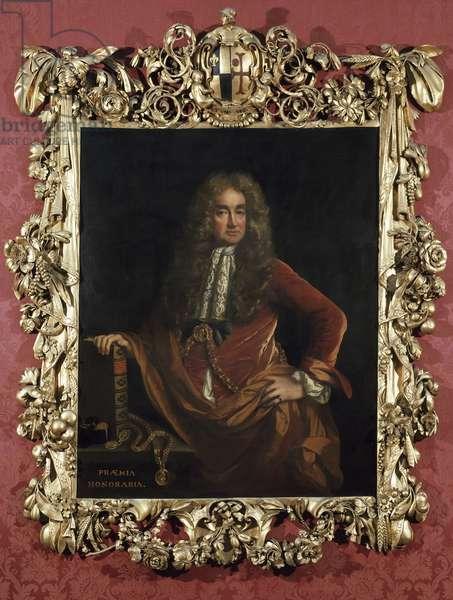 Portrait of Elias Ashmole (oil on canvas)