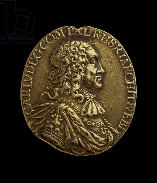 Medal, 1671 (gold)