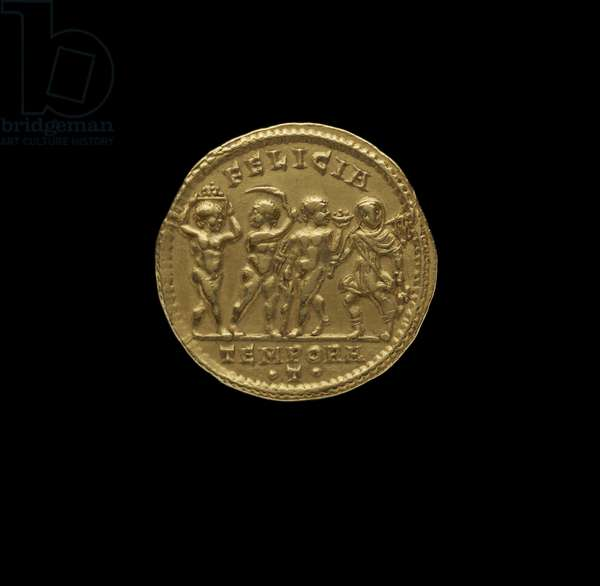Roman Imperial Coin from Ticinum, AD 316 (gold)