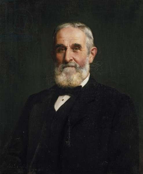 Sir John Evans, 1905 (oil on canvas)