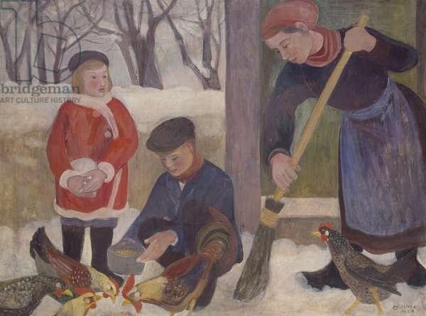 Winter, 1940 (linen)