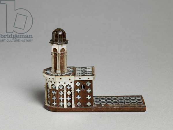 Model of the Church of the Holy Sepulchre (wood & mother of pearl)