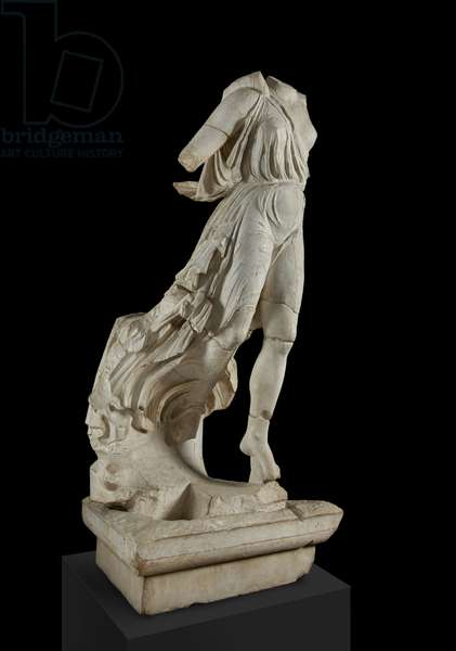 Cast of Nike of Paionios, Olympia, original dated 421 BC (plaster)