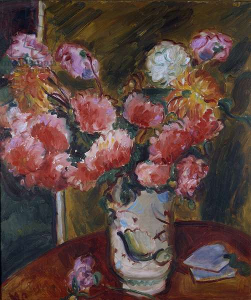 Still Life of Flowers, mid-1920s (oil on canvas)