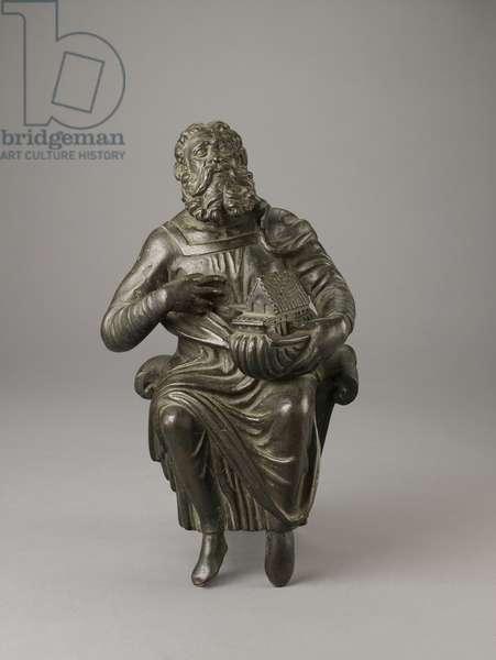 Statue of Noah, probably 12th century (bronze)
