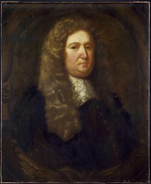Robert Plot, late 17th century (oil on canvas)