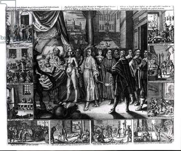 Laud's Dream, 17th century (engraving)