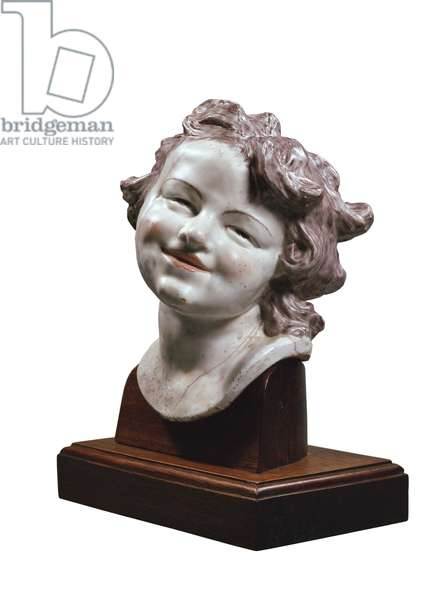 Head of Laughing Child, c. 1752 (porcelain)