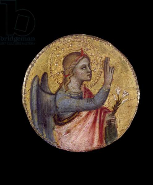 The Angel Annunciant, 14th century (tempera on panel)