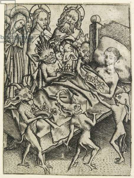 The Temptation of Avarice (engraving)