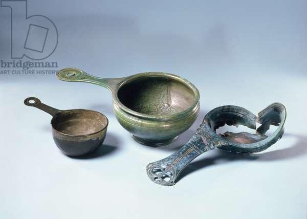 Cooking Equipment, (bronze)