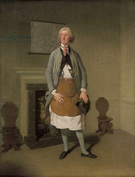Mr Suett as Dicky Gossip in 'My Grandmother', 1797 (oil on canvas)