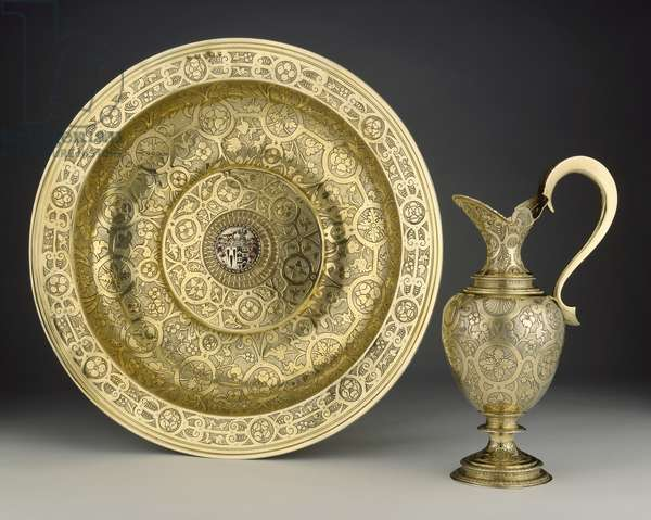 The Proctor Basin and the Proctor Ewer, 1592-93 (silver-gilt)