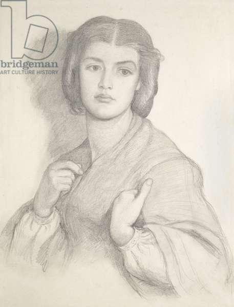 Portrait of a Woman (graphite on paper)