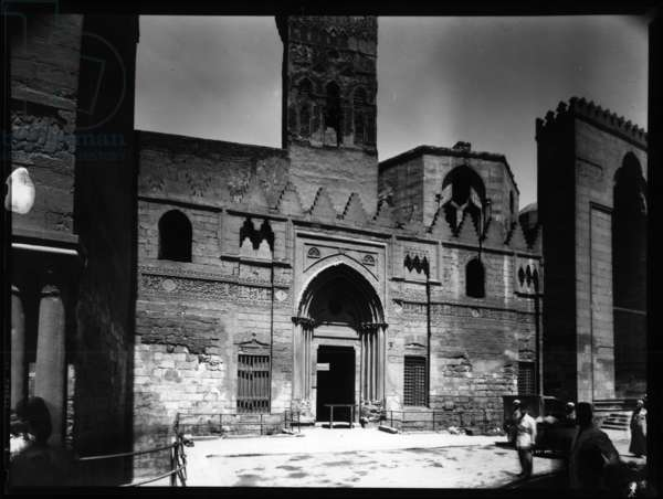 Madrasa and Mausoleum of Sultan al-Nasir Muhammad (b/w photo)