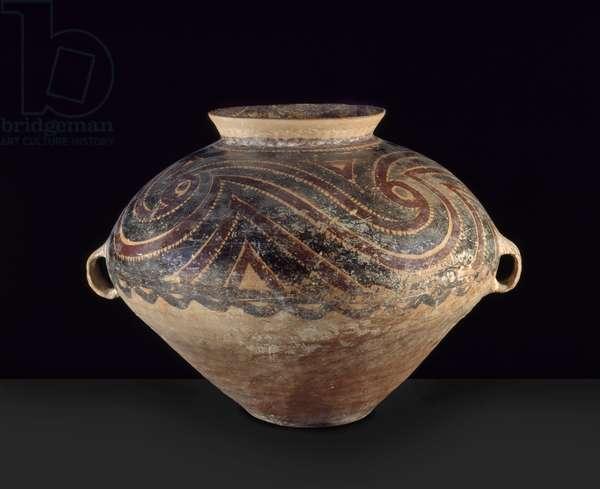 Large Urn, Western China, Neolithic, c.3000 BC (earthenware)
