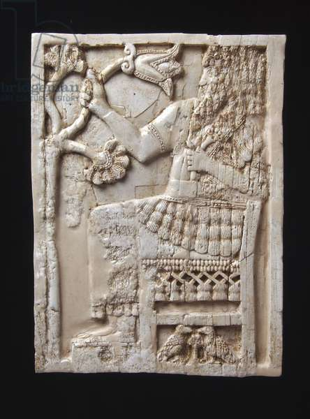 Plaque (ivory or bone)
