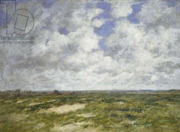 Berck, Cloudy Landscape, 1882 (oil on canvas)