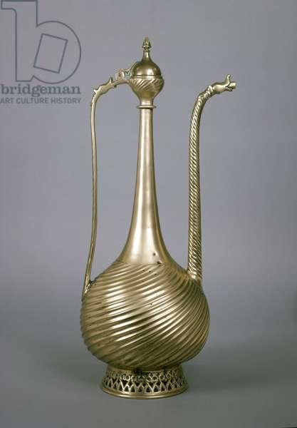 Ewer, Indian Sub-Continent, 16th century (brass)