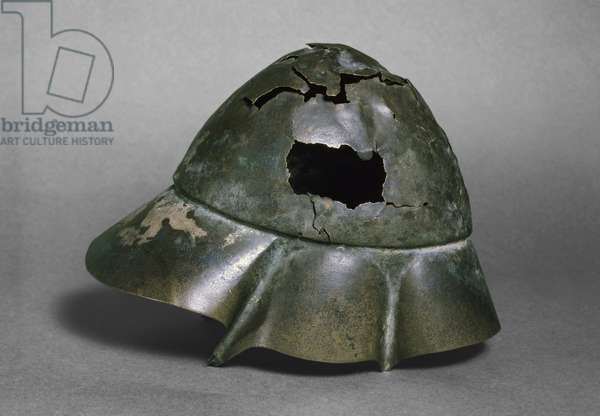 Helmet of the 'Companion Cavalryman', Boetian, probably 4th century BC (bronze) (see also 126299)