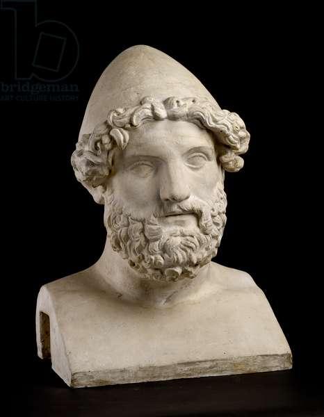 Cast of Herm of Hephaistos, Rome, original dated 2nd century AD (plaster)