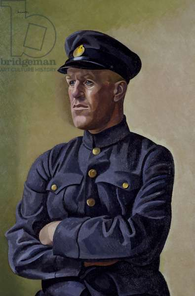 T.E. Lawrence as Aircraftsman Shaw, 1923 (oil on canvas)