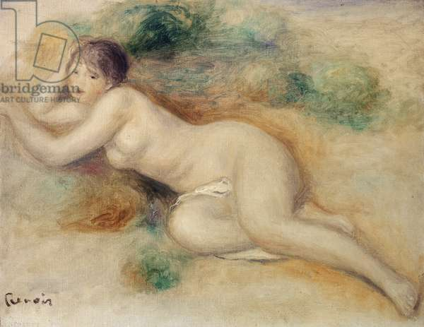Nude Figure of a Girl, 1880-89 (oil on canvas)