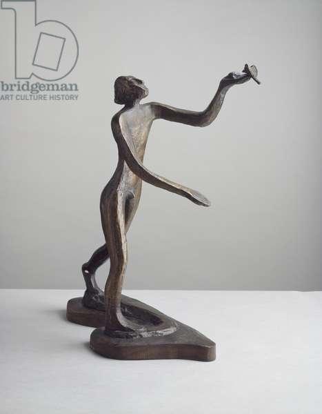 Elijah's Meat, 1938 (bronze)