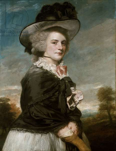Portrait of Miss Keppel, afterwards Mrs Thomas Meyrick, 1782 (oil on canvas)