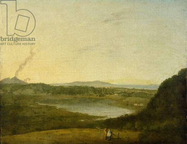 The Lago di Agnano, c.1752 (oil on canvas)