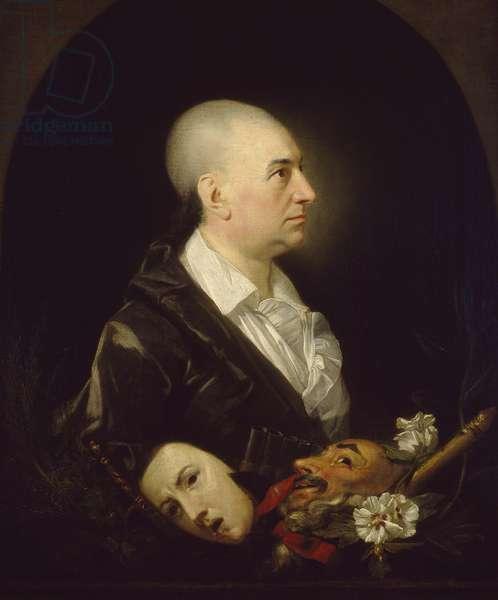 David Garrick, 1762 - 1763 (oil on canvas)