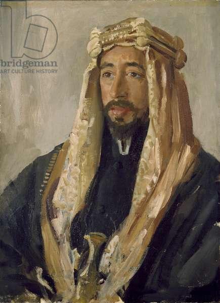 Emir Feisal (1883-1933), 1919 (oil on canvas)