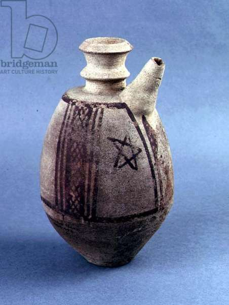 Decorated Pot, Jamdat Nasr, Iraq, c.3200 BC (painted pottery)
