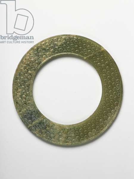 Ring, Warring States period, 4th to 3rd century BC (jade)