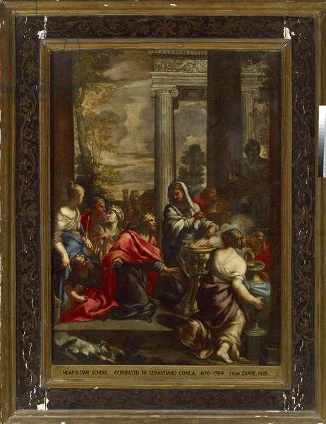 The Idolatry of Solomon, c. 1675 - 1695 (oil on canvas)