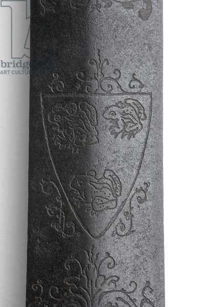Henry VIII's Sword of State (metal) (detail of 114276)