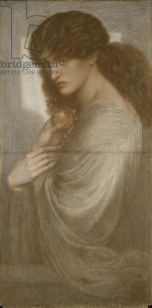Proserpina, 1871 (coloured chalk on paper)