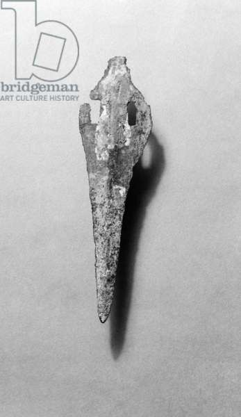 Slotted spearhead or dagger, Amorgos, Early Cycladic II (bronze)
