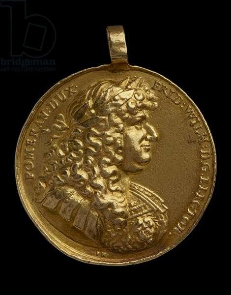Medal, 1678 (gold)